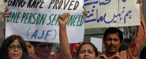 Protests against the Pakistani Supreme Court Ruling on the Mukhtar Mai Case