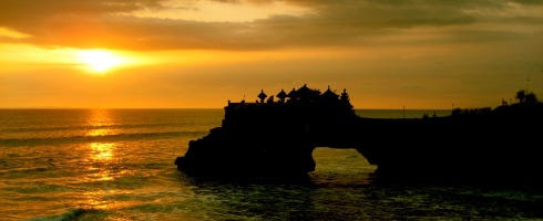 Sunset at Tanah Lot Temple, Bali (Photo courtesy Ed Mans)