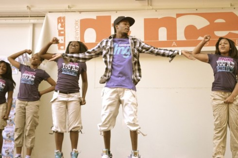The intense and talented hip-hop troupe from Bed Stuy's Brooklyn Drama Club