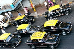 Mumbai taxis; courtesy Tom Spender