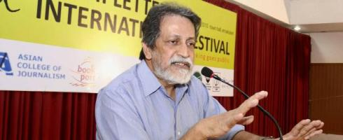 Prabhat Patnaik. Photo courtesy Vipin Chandran/The Hindu