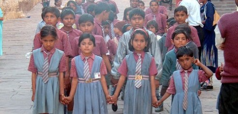 school girls in jodhpur