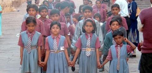 school girls in jodhpur