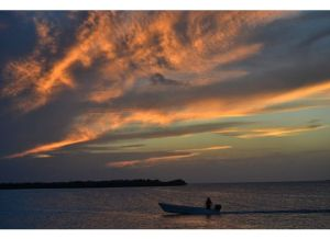 Sunset at Caye Caulker