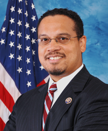 Congressman Keith Ellison from Minneapolis, the first Muslim ever elected to U.S. Congress