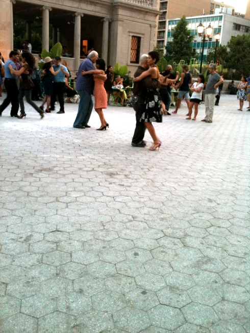 Tango at Union Square, New York, July 10, 2011