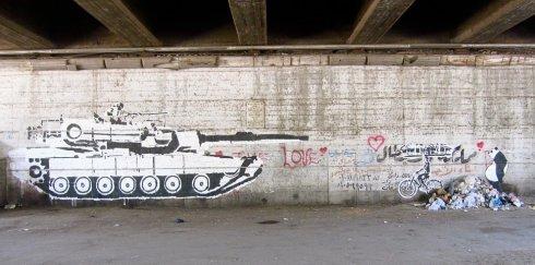 Protest art CREDIT: URSULA LINDSEY