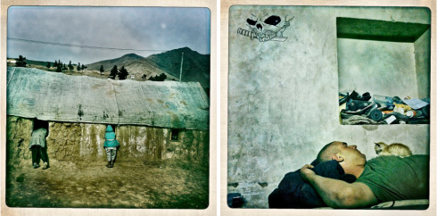 The War in Hipstamatic CREDIT: Balazs Gardi